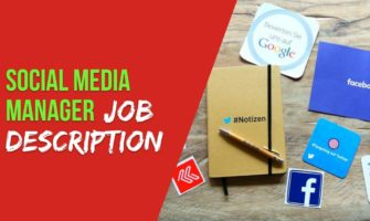 Social Media Manager Job Description