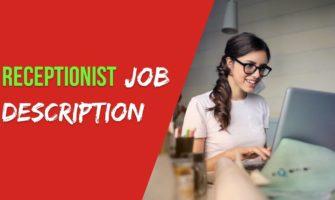 Receptionist Job Description