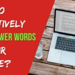 Power Words in Resume